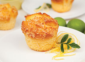 Lemon Curd Muffin