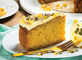 Pumpkin & Ginger Cake