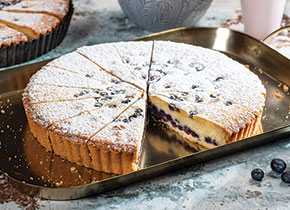 Blueberry & Almond Tart
