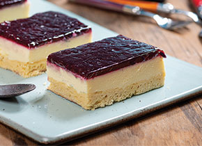 Boysenberry Tray Cheesecake
