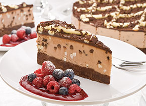Brownie Choc Cheesecake