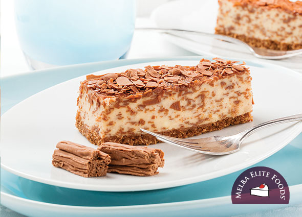 CADBURY® FLAKE® Cheesecake Slice