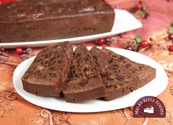 Christmas Plum Pudding Log