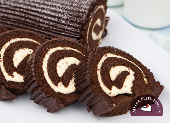 Iced Chocolate Log