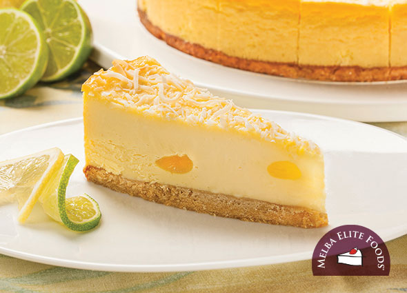 Baked Lemon Lime Cheesecake