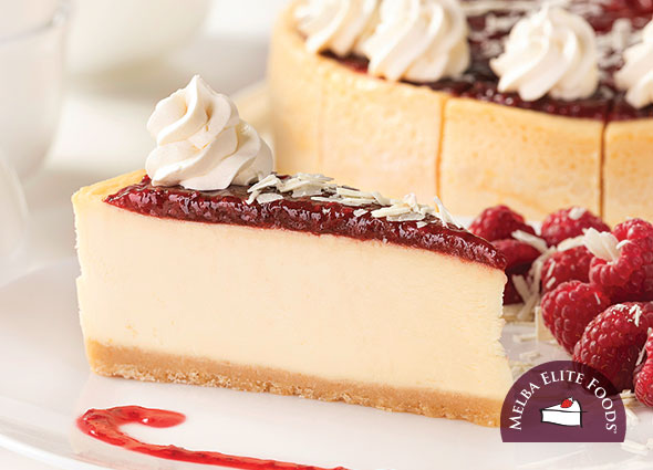 Raspberry New York Cheesecake