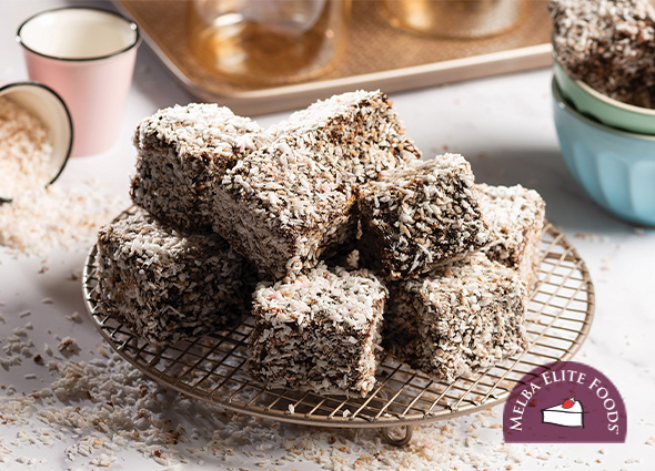 Chocolate Mini Lamingtons
